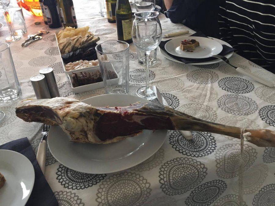 Fermented lamb served at FaroeGuide