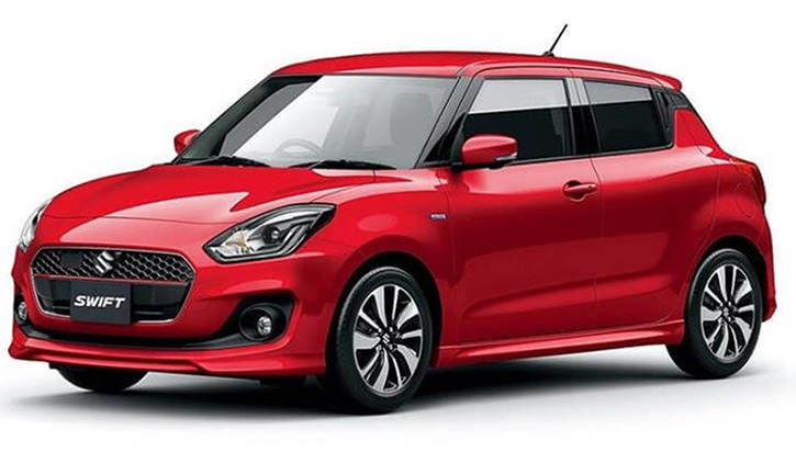 Rental Car in the Faroe Islands at FaroeGuide - Suzuki Swift 1.2 Automatic Transmission
