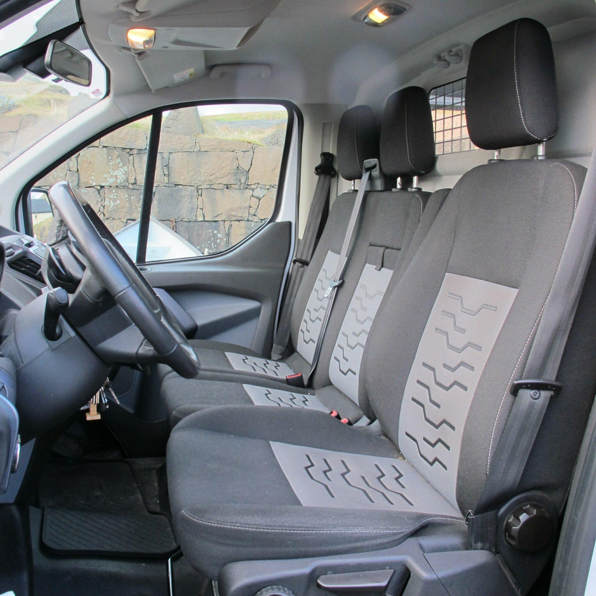 FaroeGuide Rental Car - Ford Transit Van Cargo Camper